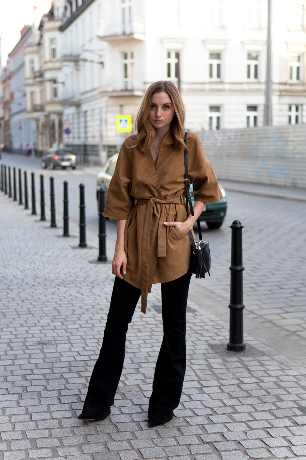 SUEDE AND FLARES